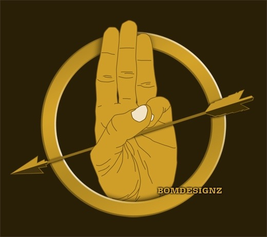 Hunger Games District 12 Sign The Hunger Games-Salut...